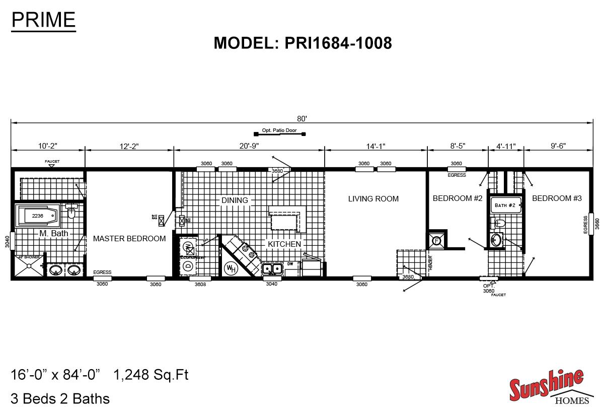 Prime PRI1684-1008 Layout