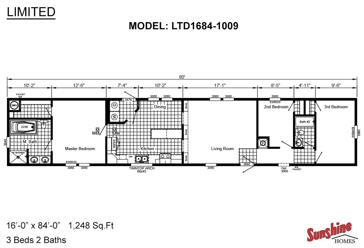 Limited LTD1684-1009 Layout