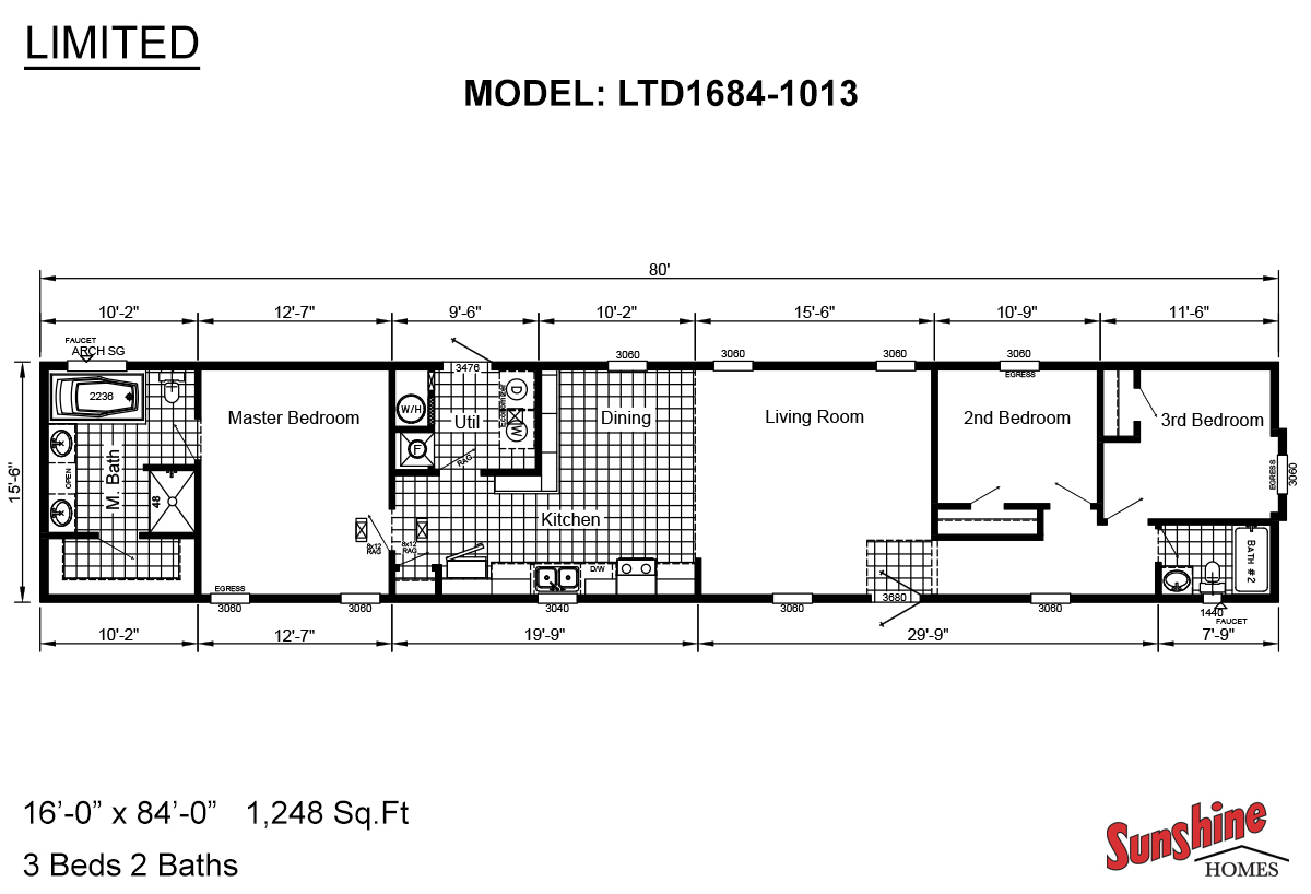Limited LTD1684-1013 Layout