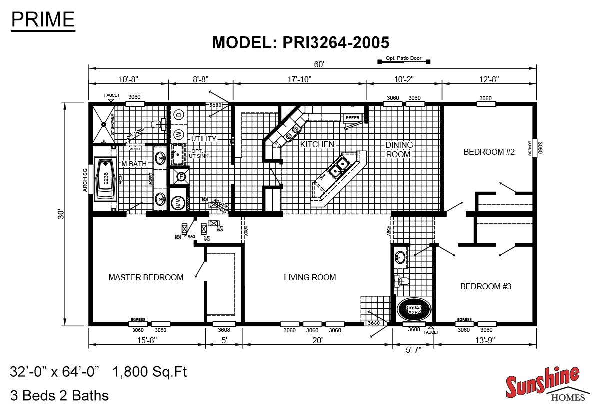 Prime PRI3264-2005 Layout