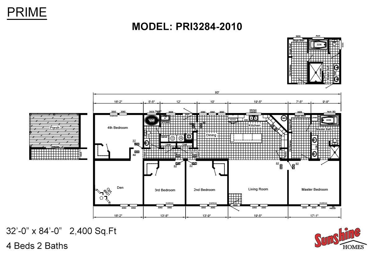 Prime PRI3284-2010 Layout