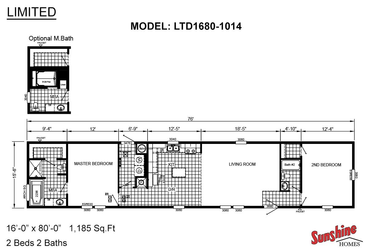 Limited LTD1680-1014 Layout