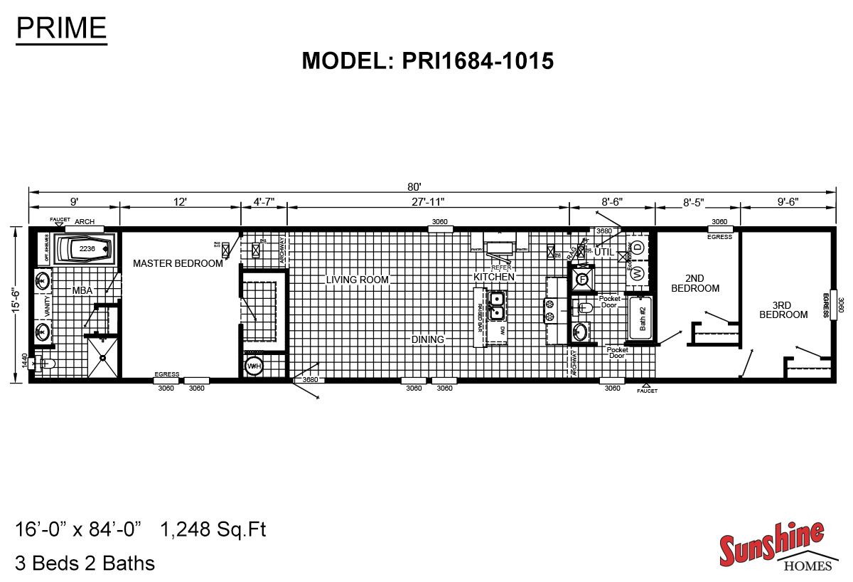 Prime PRI1684-1015 Layout