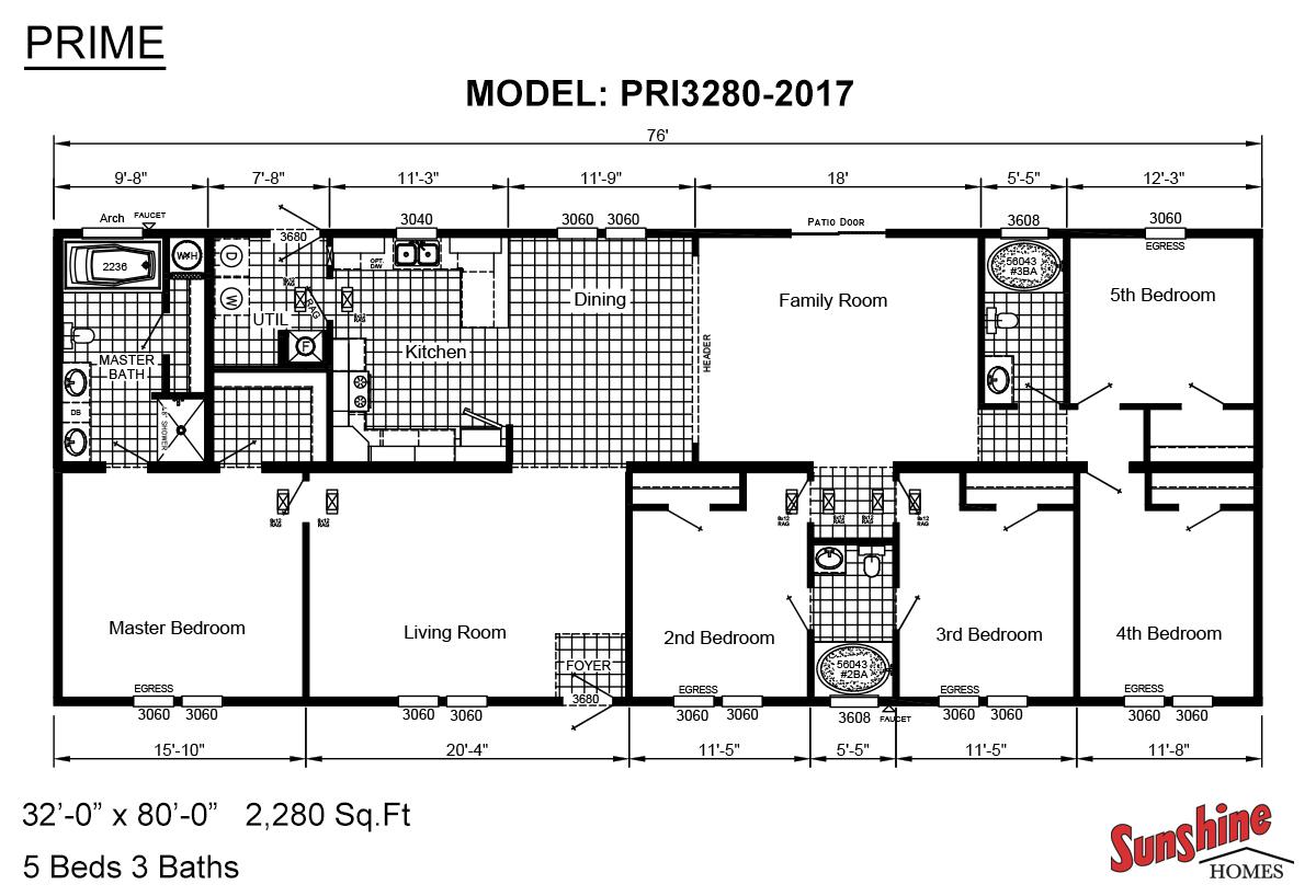 Prime PRI3280-2017 Layout