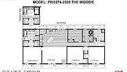 Prime PRI3274-2500 The Woodie Layout