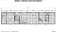 Prime PRI1676-1500 The Drake I Layout