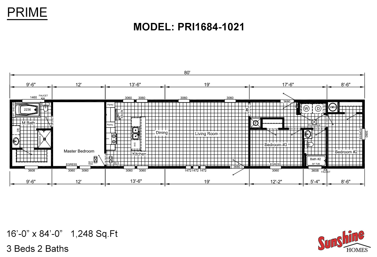 Prime PRI1684-1021 Layout