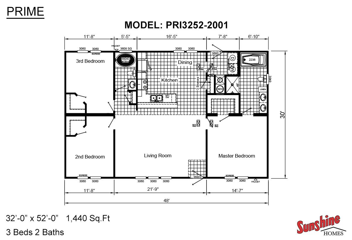 Prime PRI3252-2001 V2 Layout