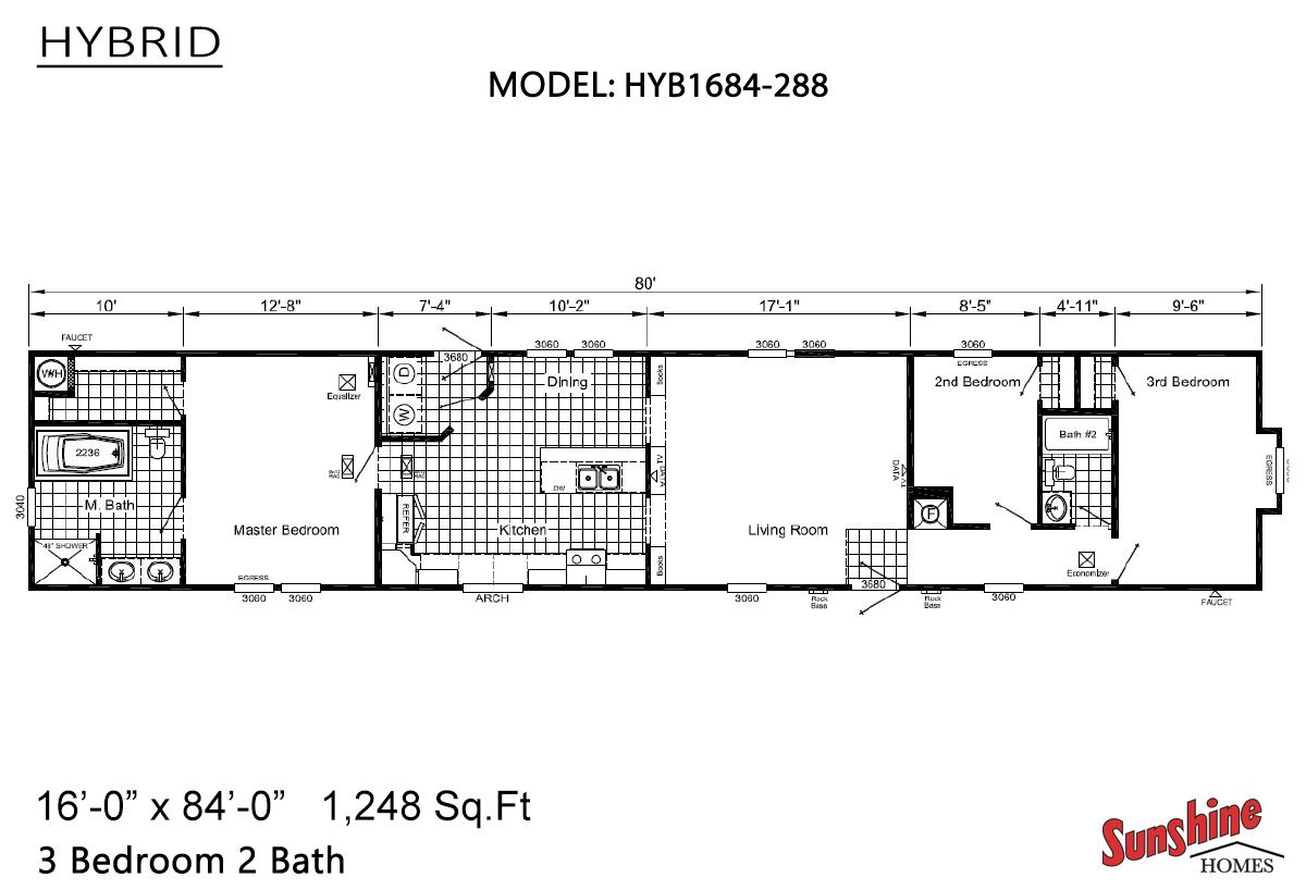 Hybrid - HYB1684-288 (NOW 1684-1009)