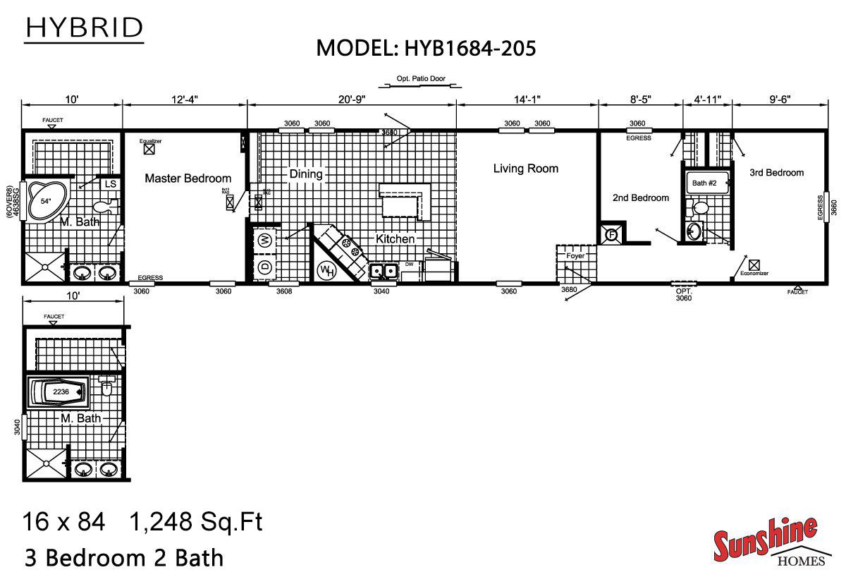 Hybrid - HYB1684-205 (NOW 1684-1008)