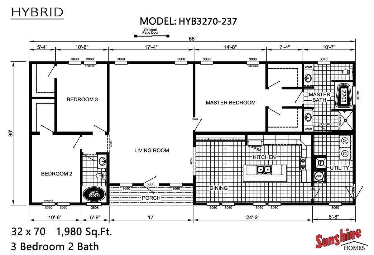 Hybrid HYB3270-237 Layout