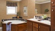 Diamond Sectional 2872-201 Bathroom