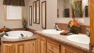 Diamond Sectional 2880-201 Bathroom