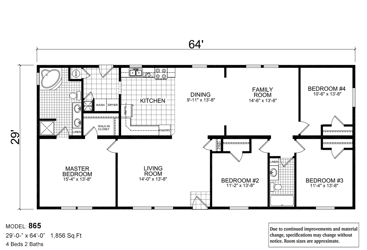 Sommerset Westmont 865 Layout