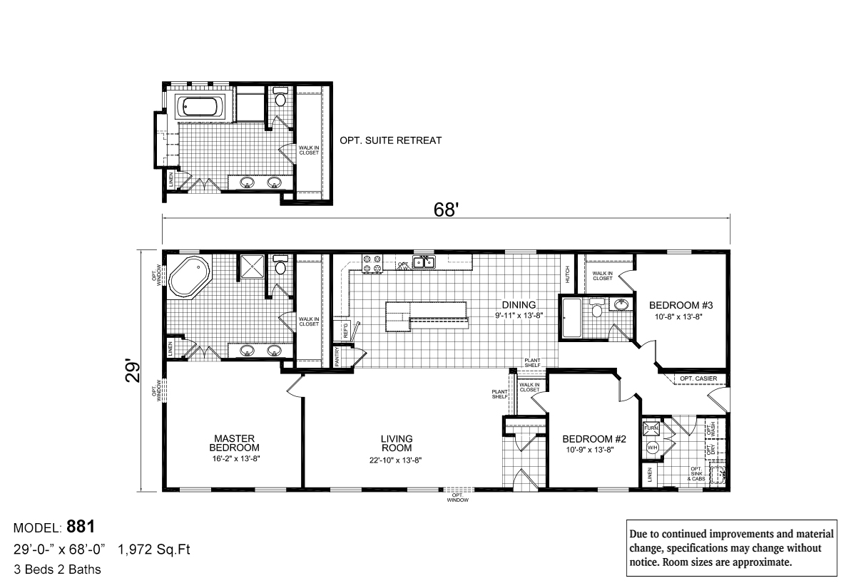 Sommerset Grandview 881 Layout