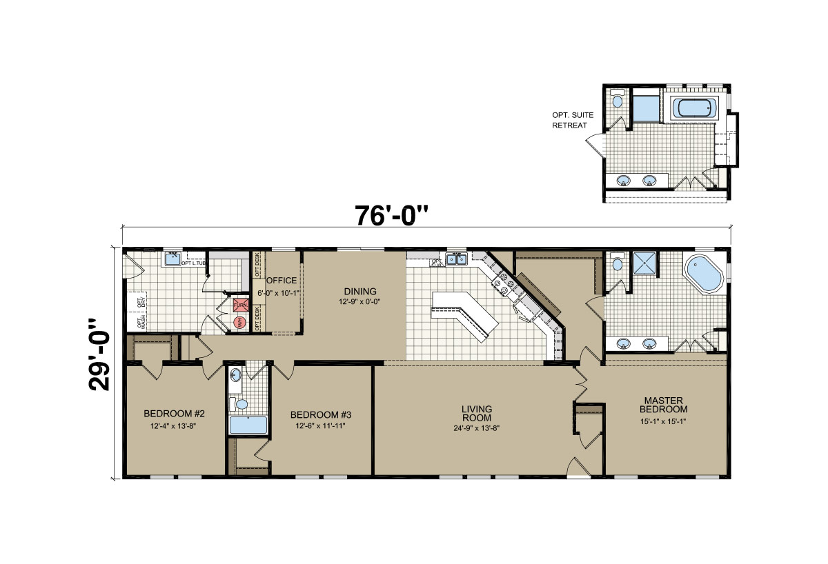 Sommerset Montana 353 Layout