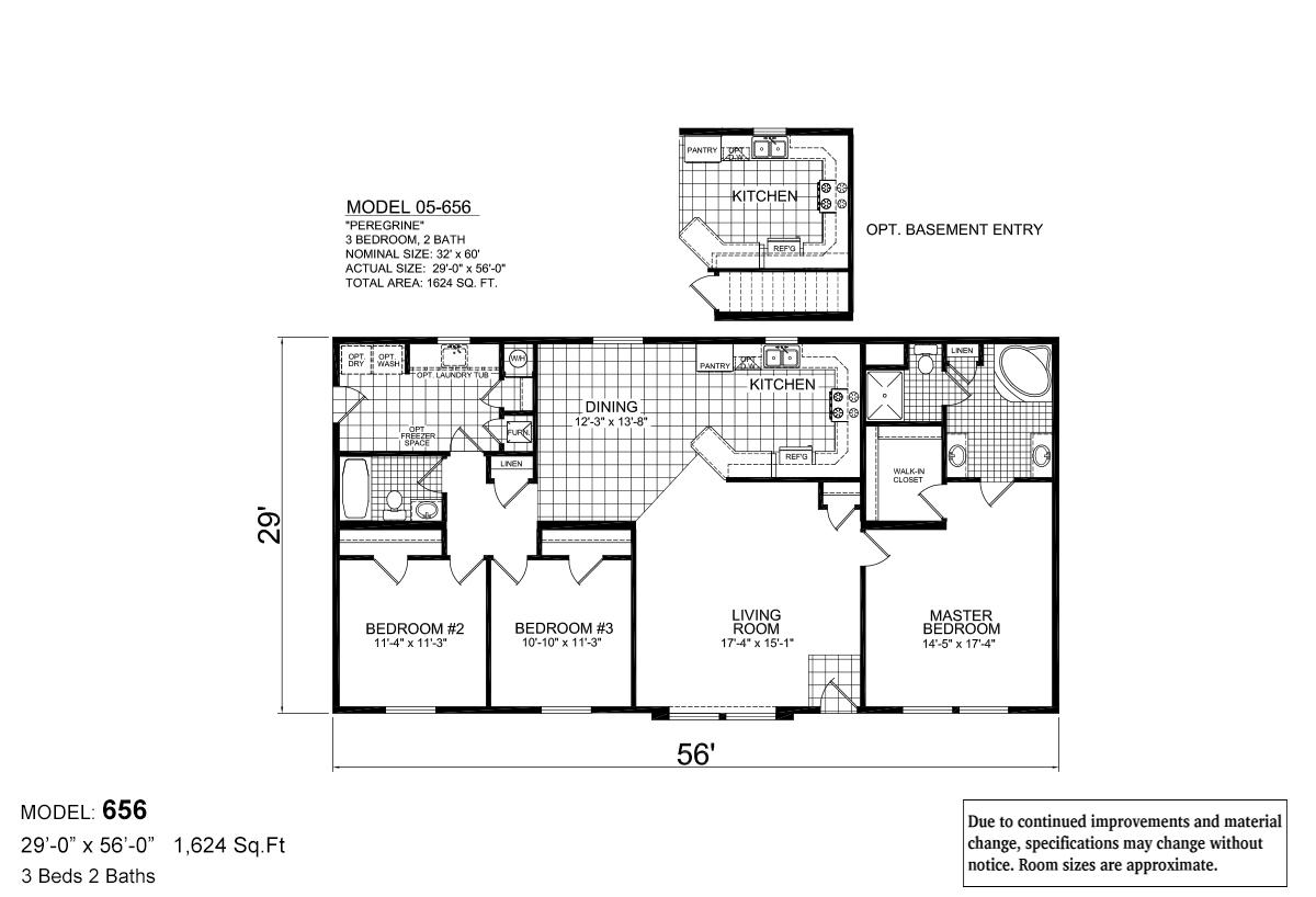 Lifestyle P-656 The Peregrine Layout