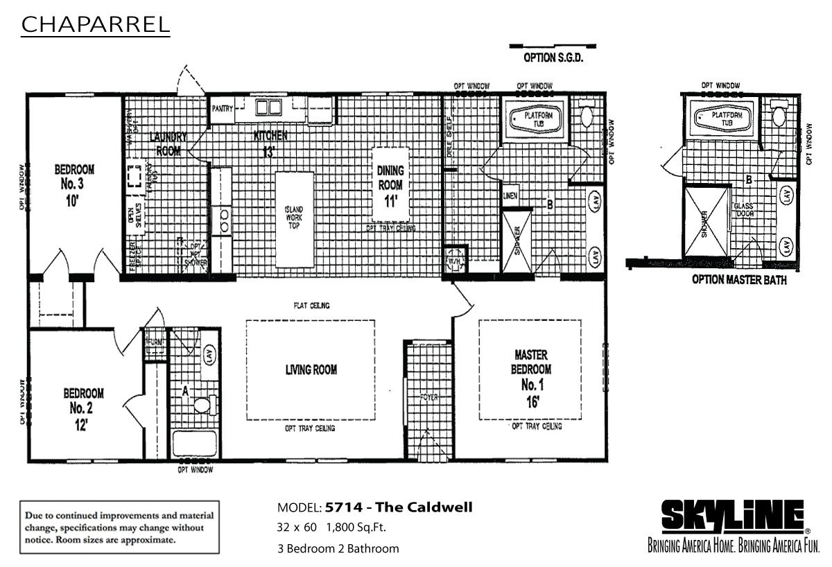 Chaparrel 5714 The Caldwell By Skyline Homes