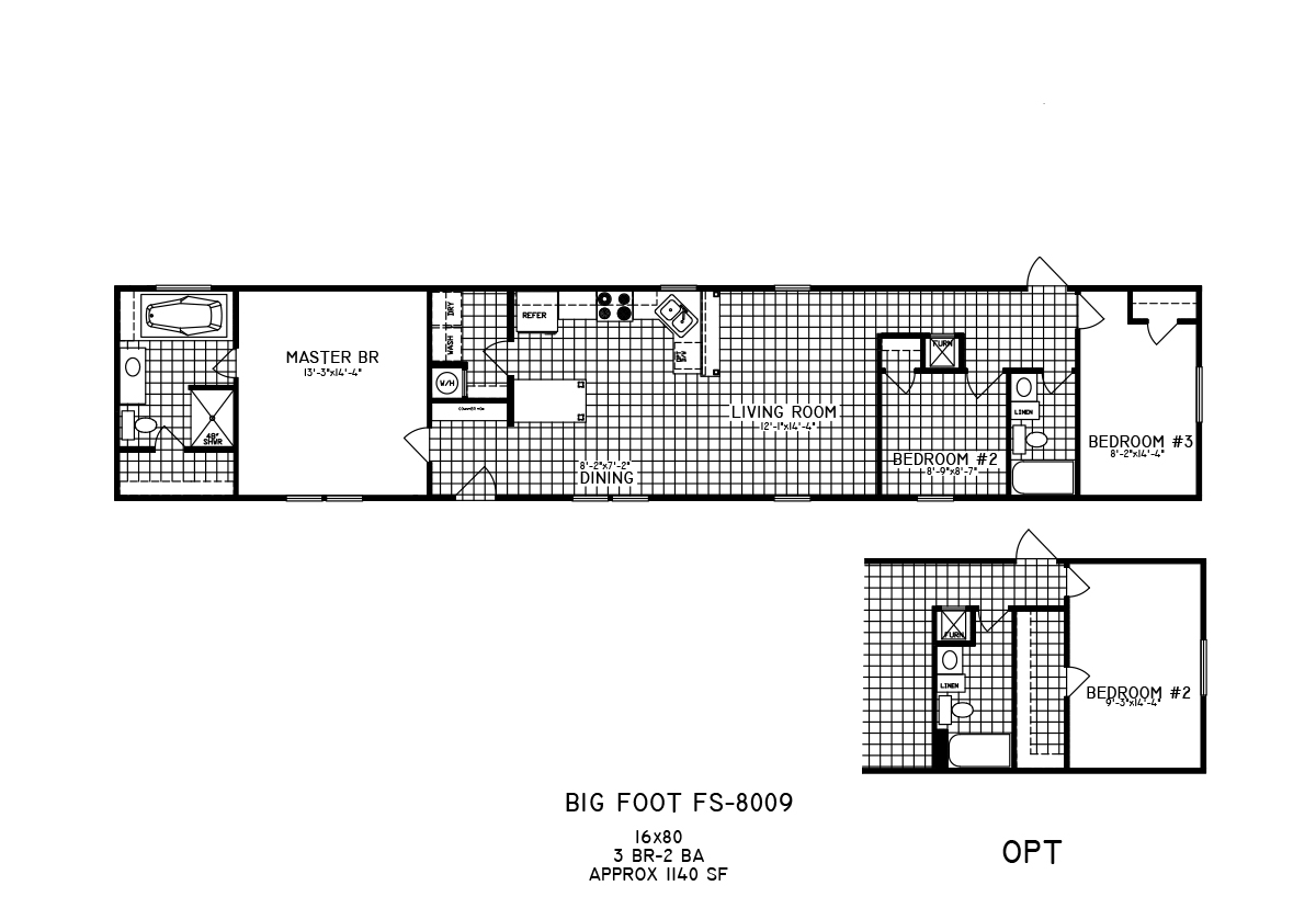 Bigfoot 8009 Layout