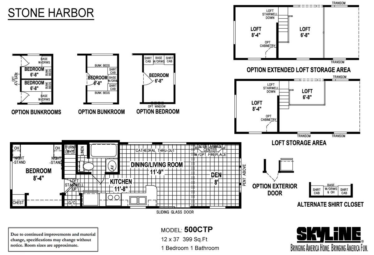 Stone Harbor 500CTP-NJ2 Layout