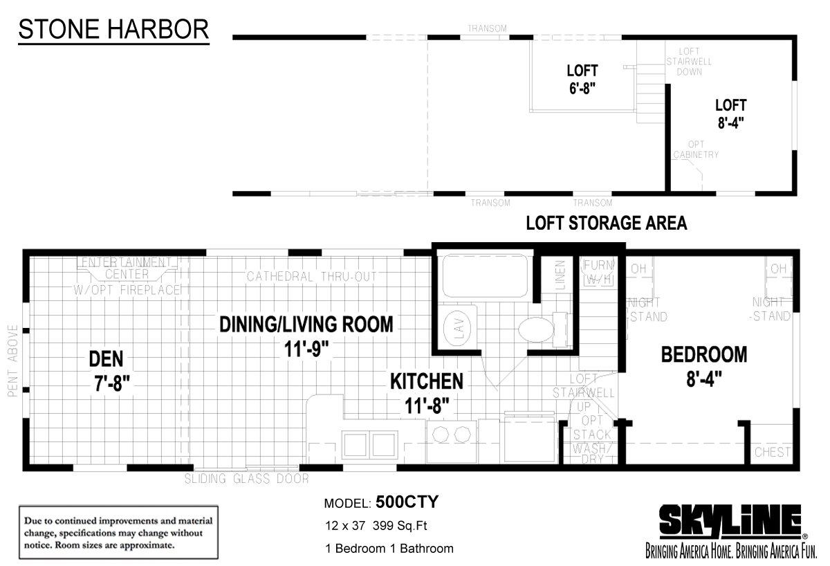 Stone Harbor 500CTY Layout