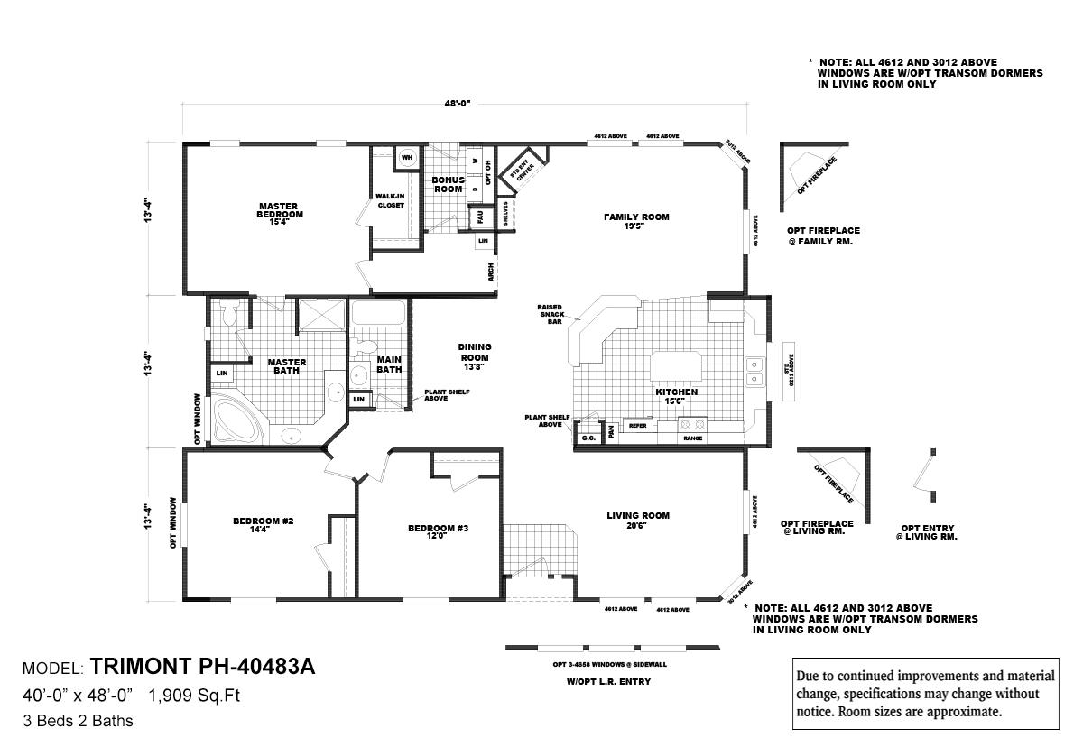 Pinehurst Trimont Layout
