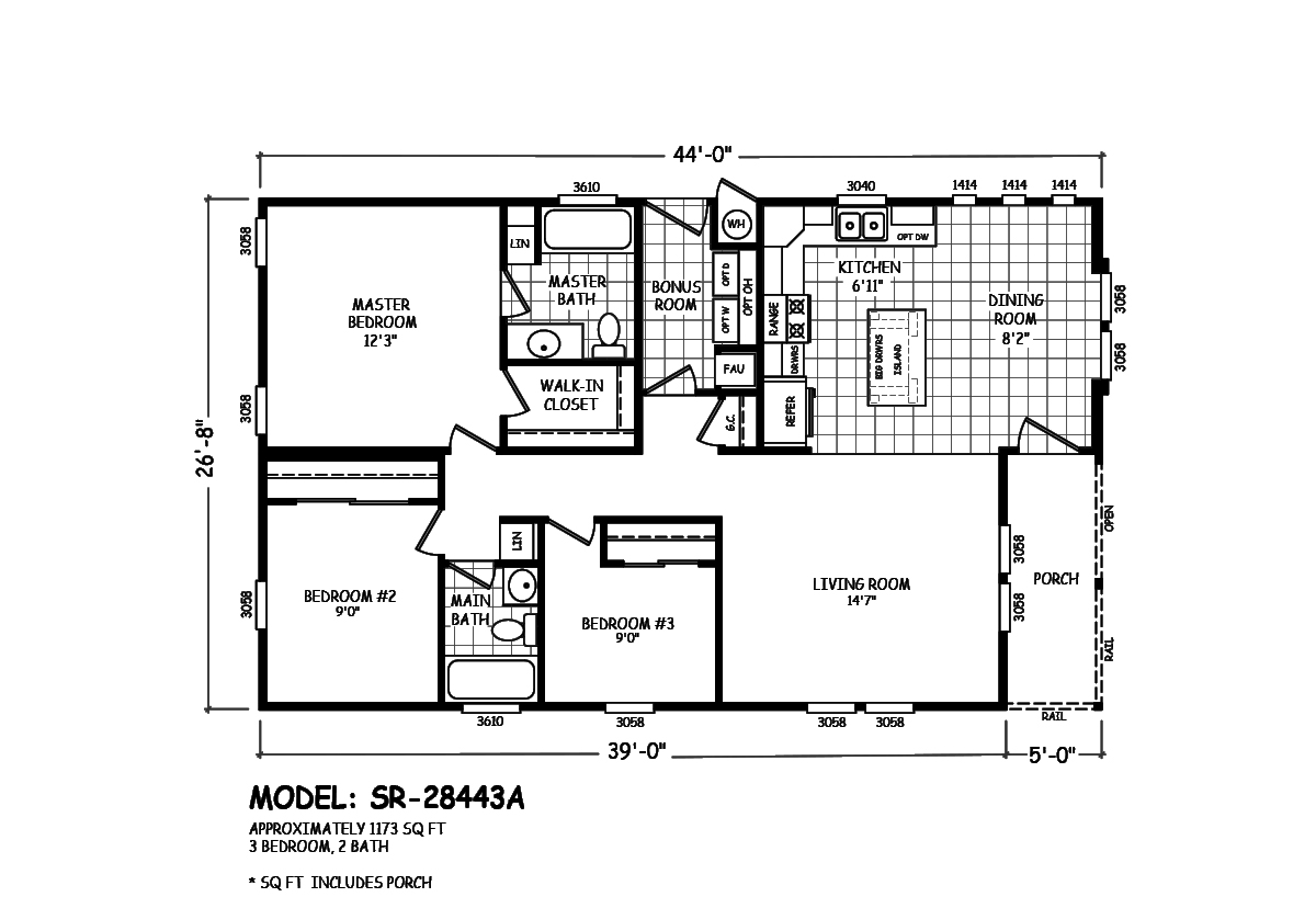 Sedona Ridge SR-28443A Layout