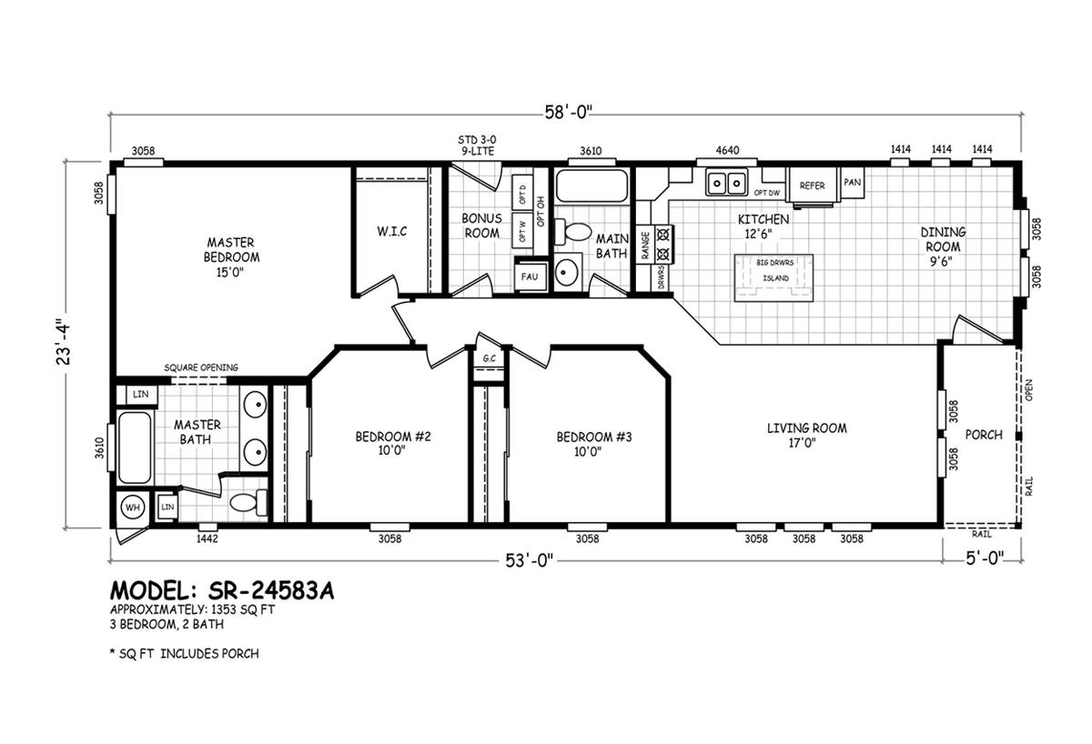Sedona Ridge SR-24583A Layout