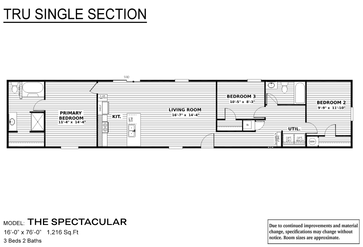 TRU Single Section - The Spectacular