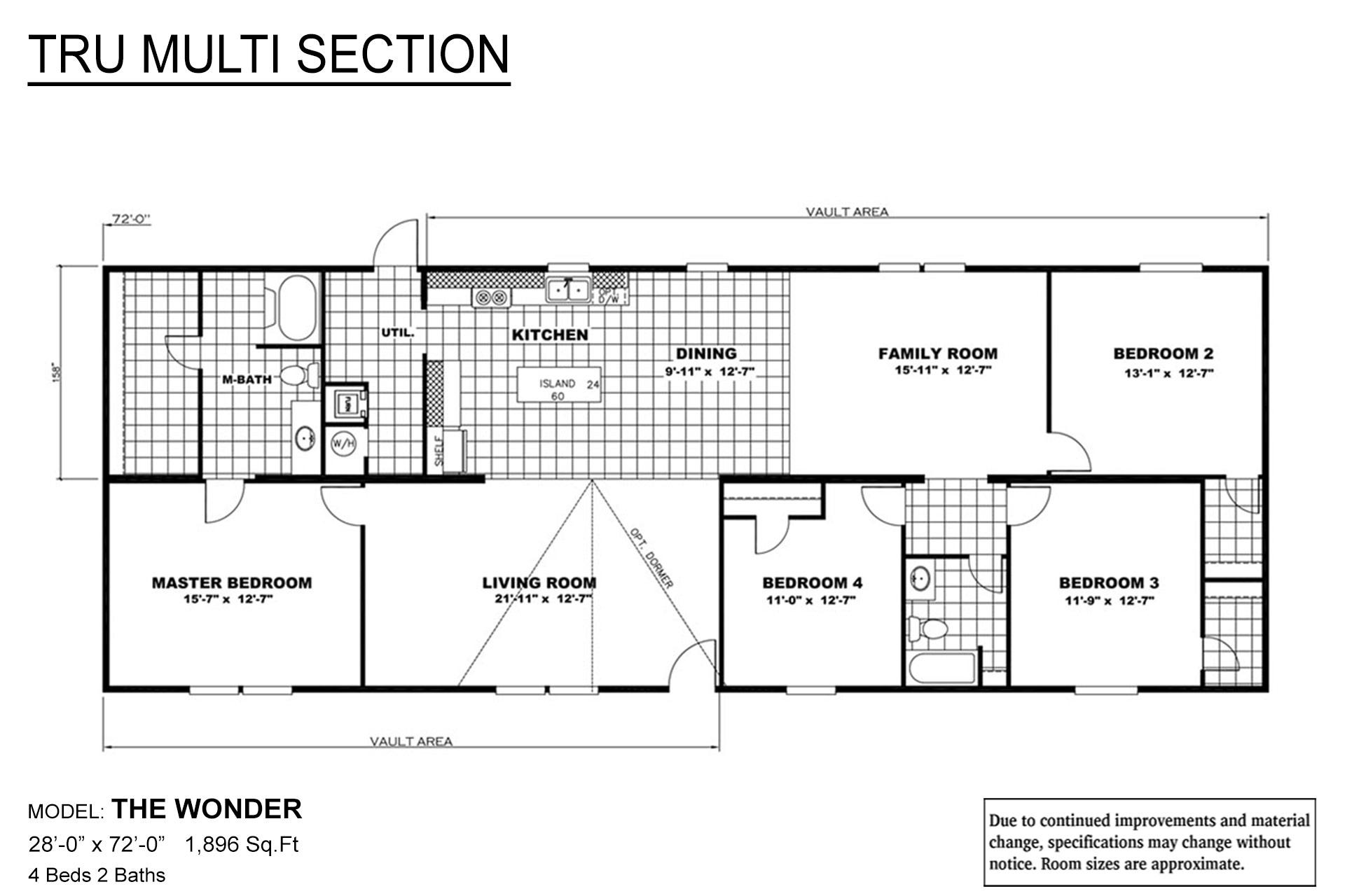 TRU Multi Section Wonder Layout