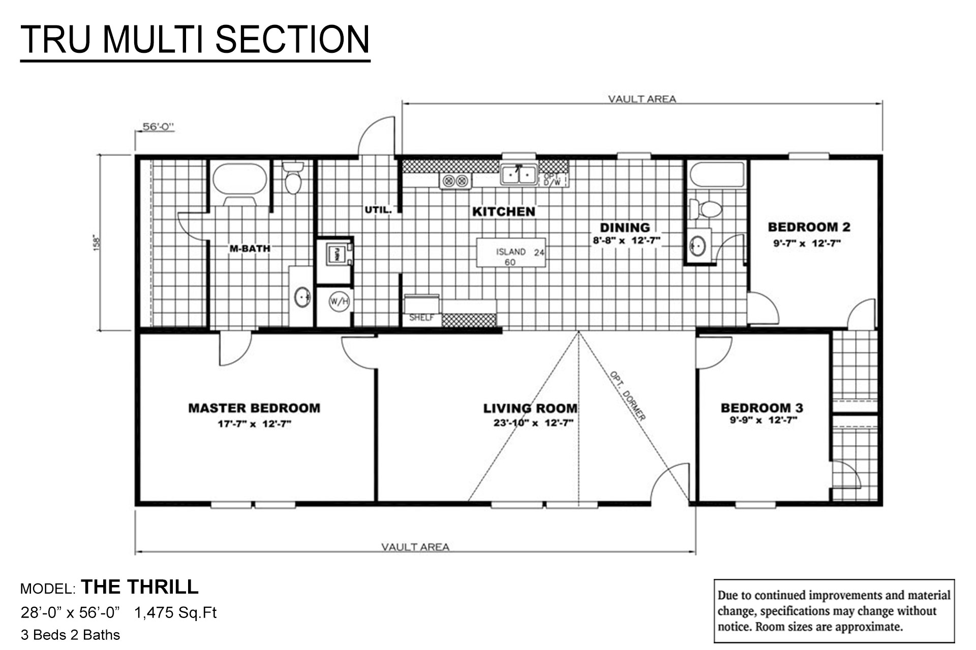 TRU Multi Section Thrill Layout