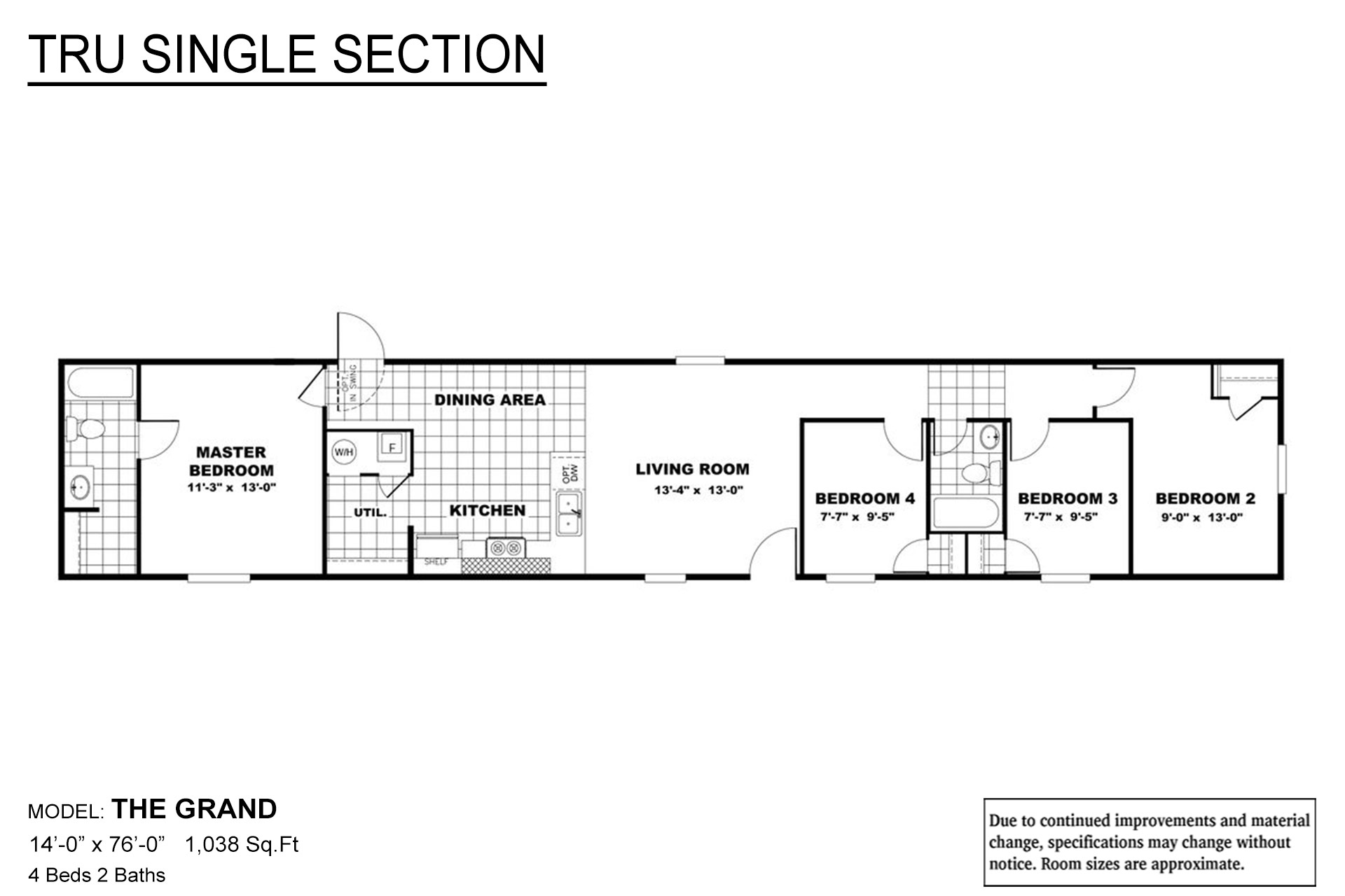 TRU Single Section The Grand Layout