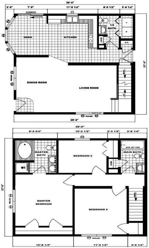 Two-Story Bellemead Layout