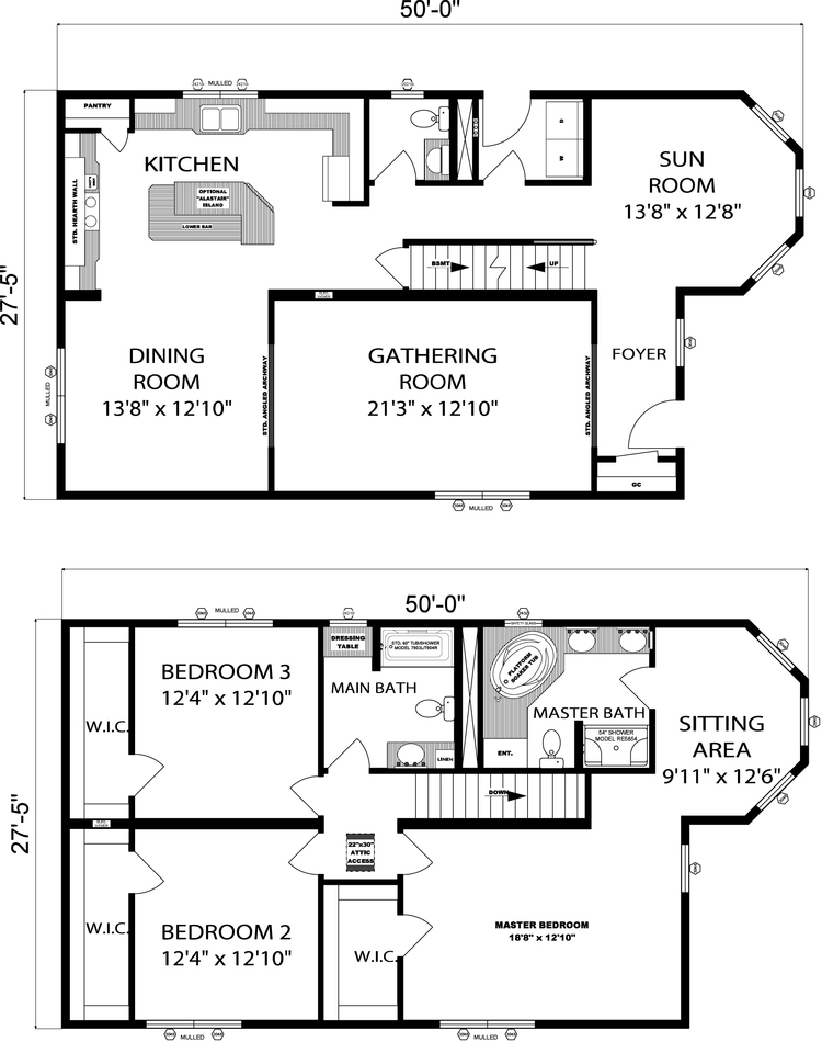 Two-Story Evelynton Layout
