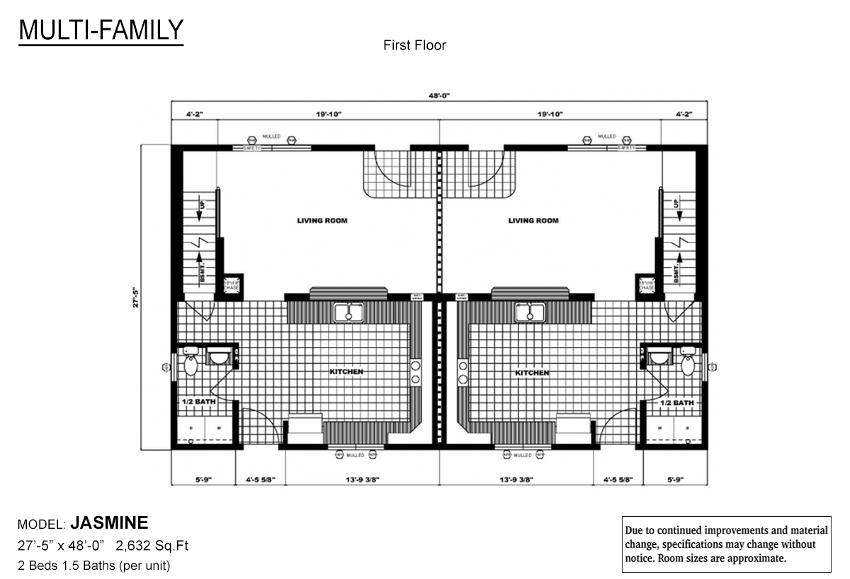 Multi-Family The Jasmine Layout