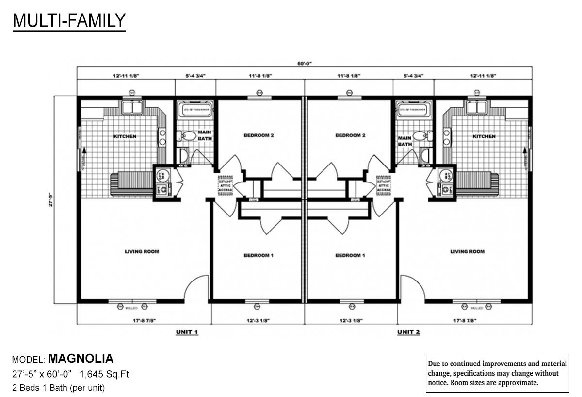 Multi-Family - The Magnolia