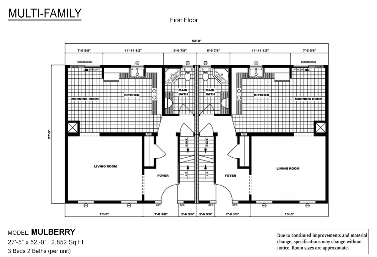 Leisure The Mulberry Layout