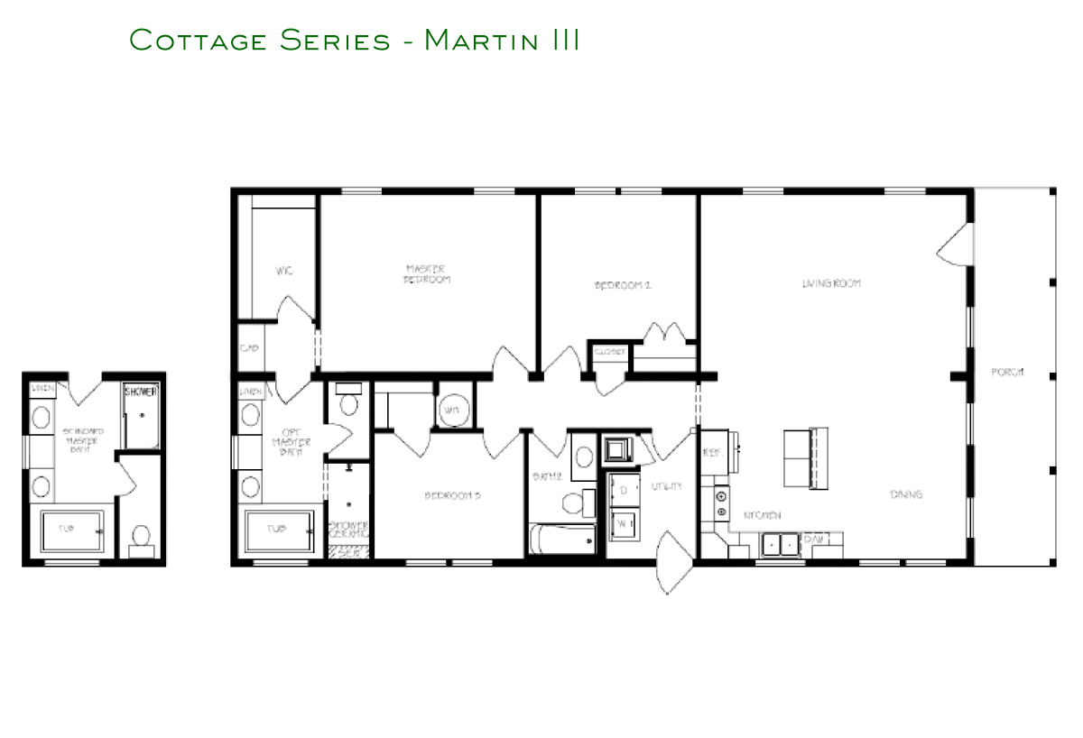 Cottage Series - Martin III