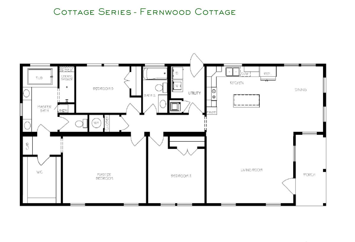 Cottage Series Fernwood Layout