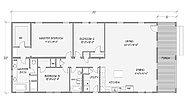 Cottage Series Prairie 8008-74-3-32 Layout