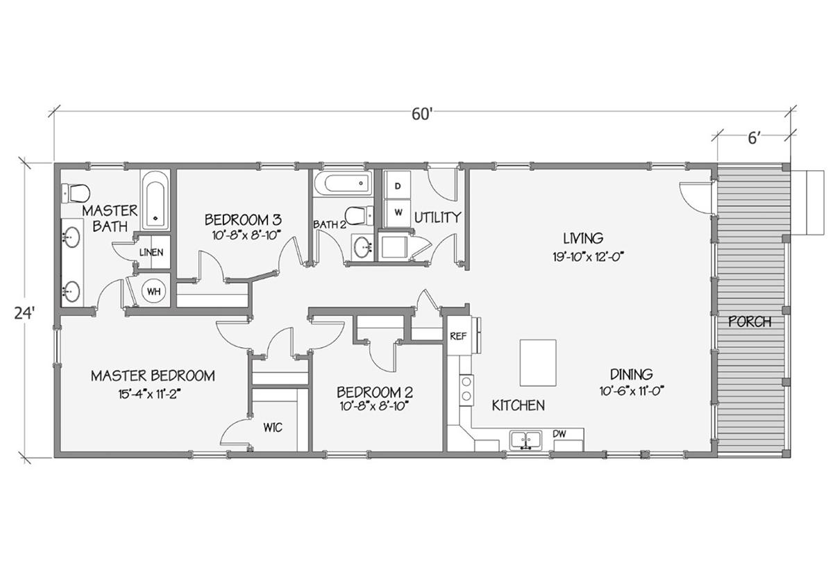 Cottage Series - Tidewater 8031-64-3-26