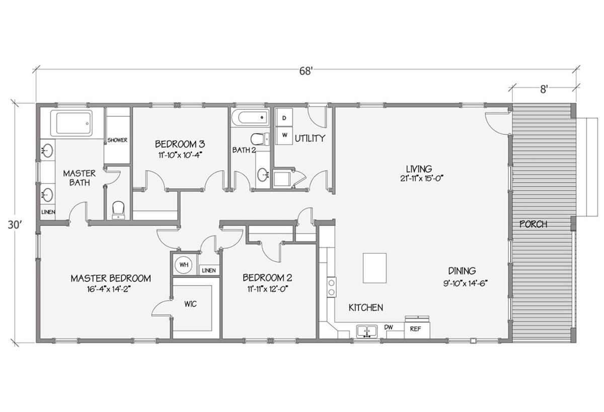 Cottage Series - Tidewater 8007-72-3-32