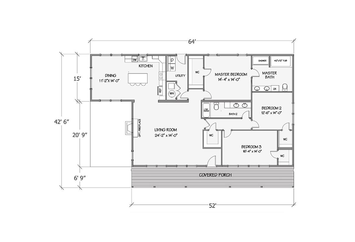 Farmhouse Series - Lilly I 5132-68-3-44