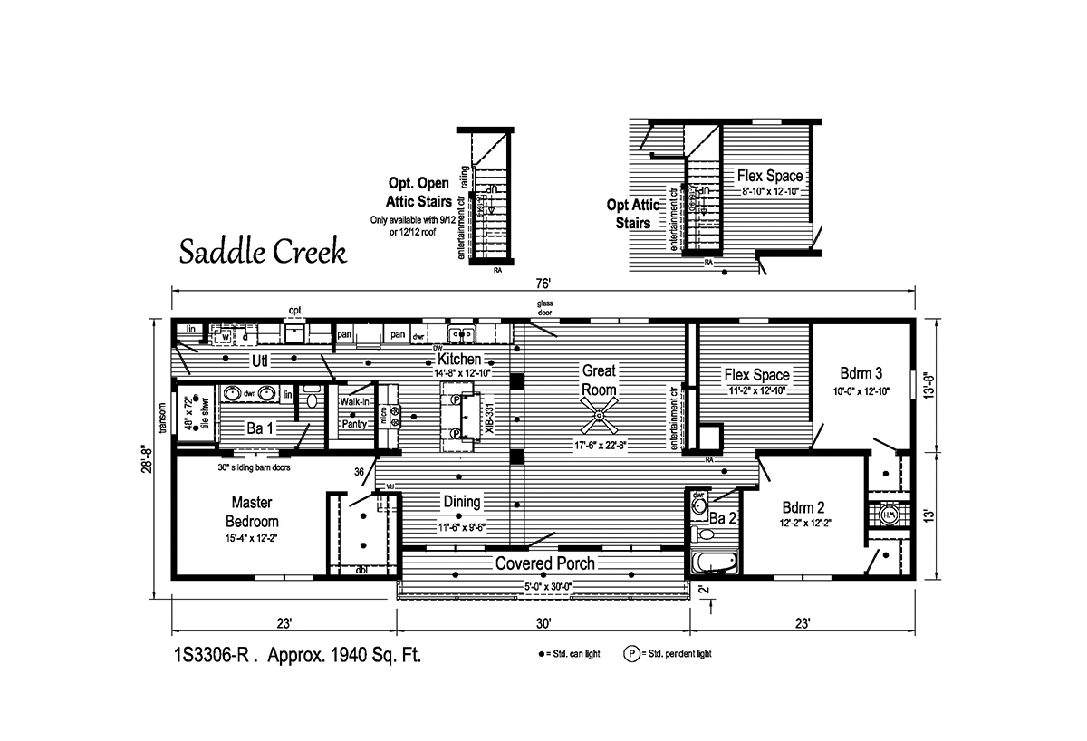 Summit Saddle - Saddle Creek 1S3306-R