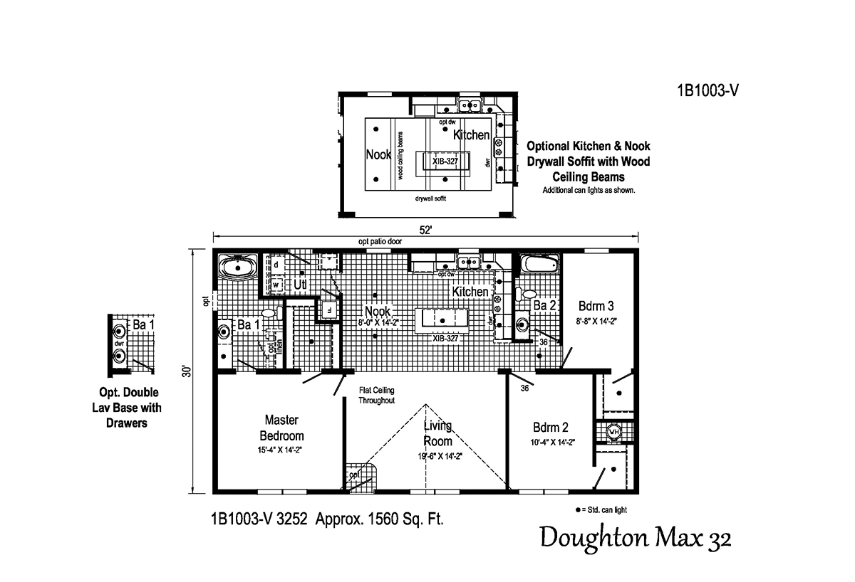 Blue Ridge MAX Doughton Max 32 1B1003-V Layout