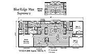 Blue Ridge MAX Supreme Max Supreme 2 1B1502-R Layout