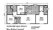 Blue Ridge Limited BlueRidge Limited 1BL1002-R Layout