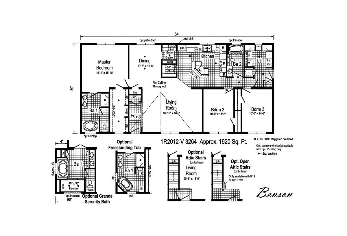 Rockbridge Benson 1R2012-V Layout