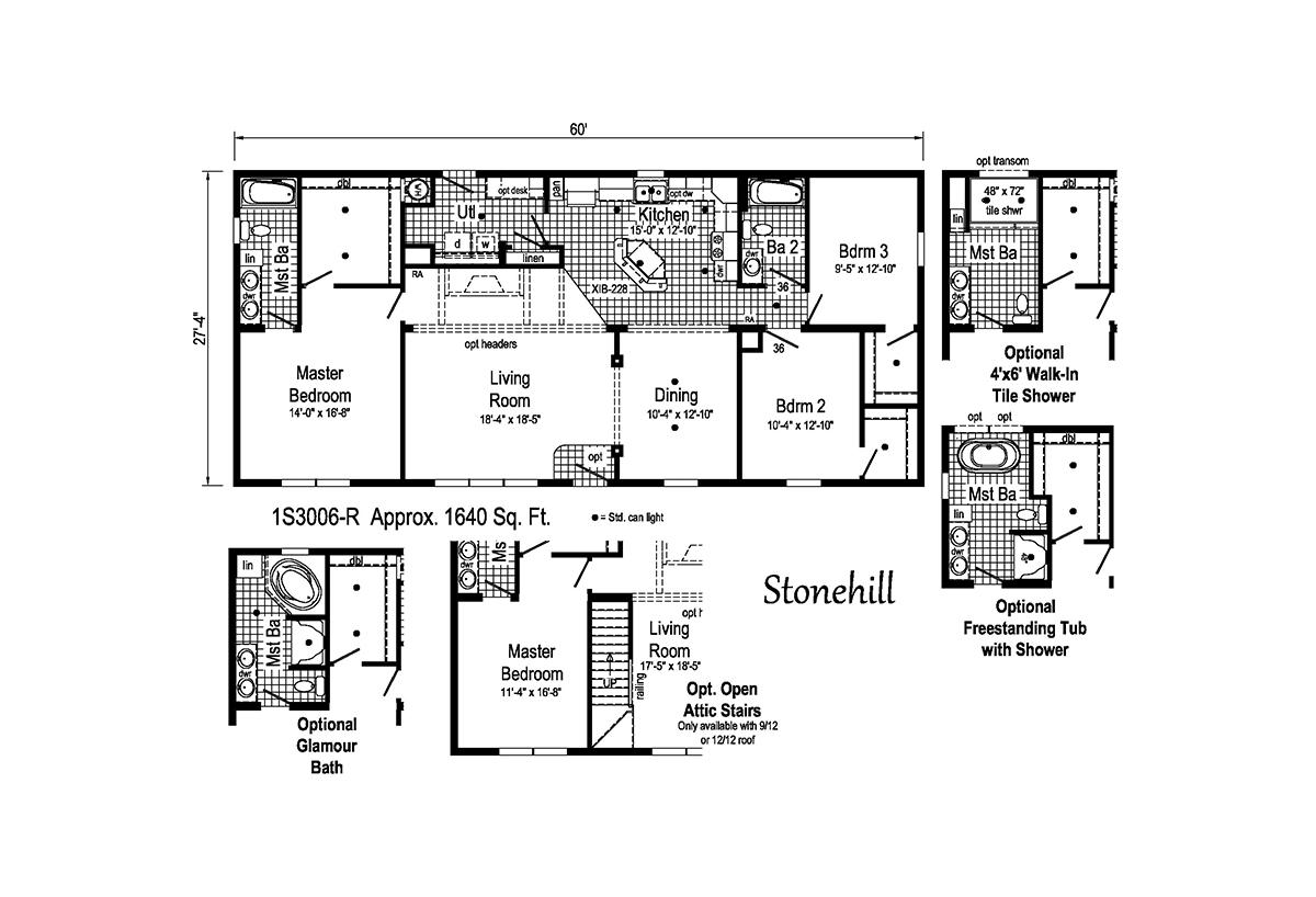 Summit Stonehill 1S3006-R Layout