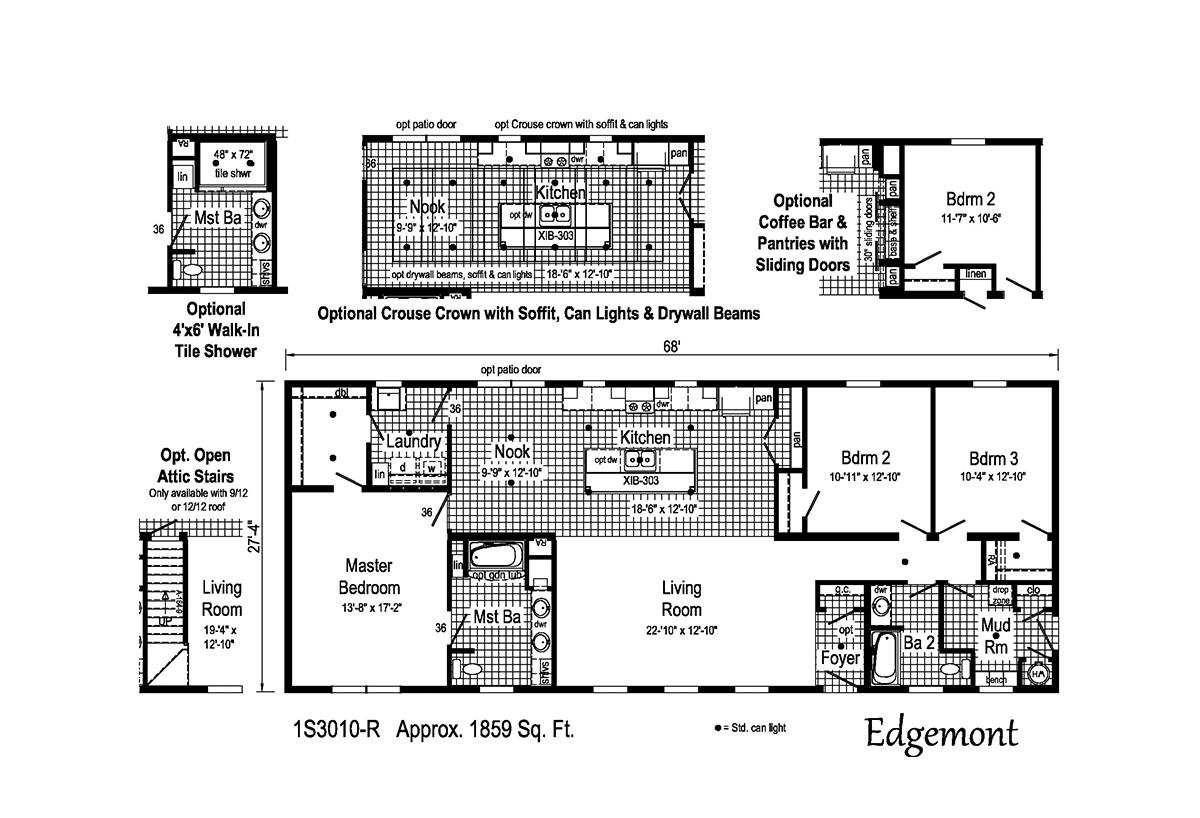 Summit - Edgemont 1S3010-R